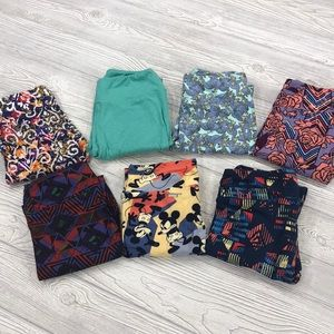 LuLaRoe One Size Legging Bundle